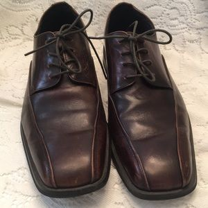 Stafford lace up dark brown oxford size 9.5M